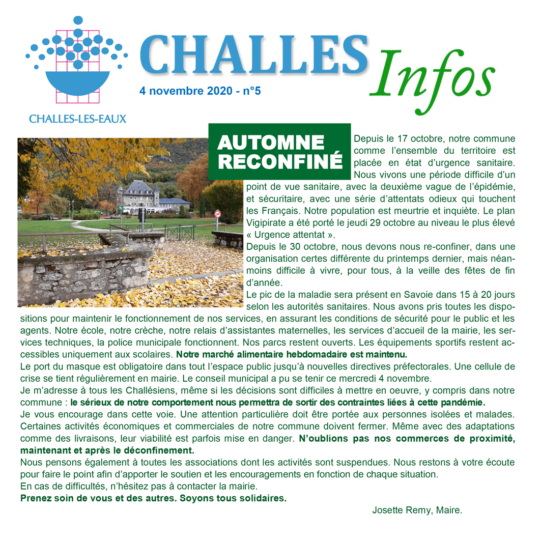 Challes Infos n°5