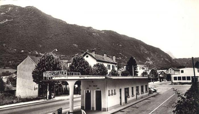 La gare routière avant 1977